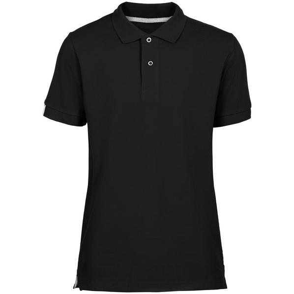 Футболка поло мужская Unit Virma Premium, черная - фото № 1