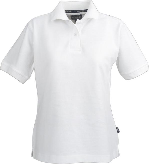 Рубашка поло женская James Harvest Semora, белая - фото № 1