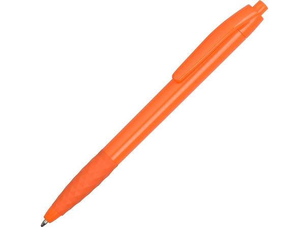 Ручка пластиковая шариковая Diamond, оранжевая - фото № 1