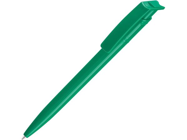 Ручка шариковая из переработанного пластика Recycled Pet Pen, зелёная - фото № 1