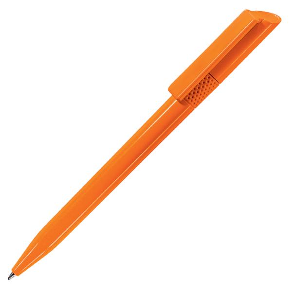 Ручка шариковая пластиковая Lecce Pen Twisty, оранжевая - фото № 1