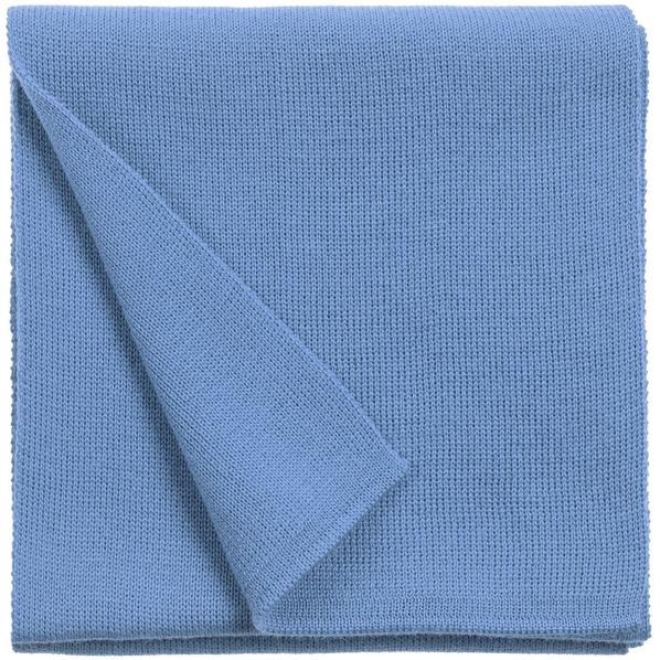 Шарф teplo Glenn, голубой - фото № 1