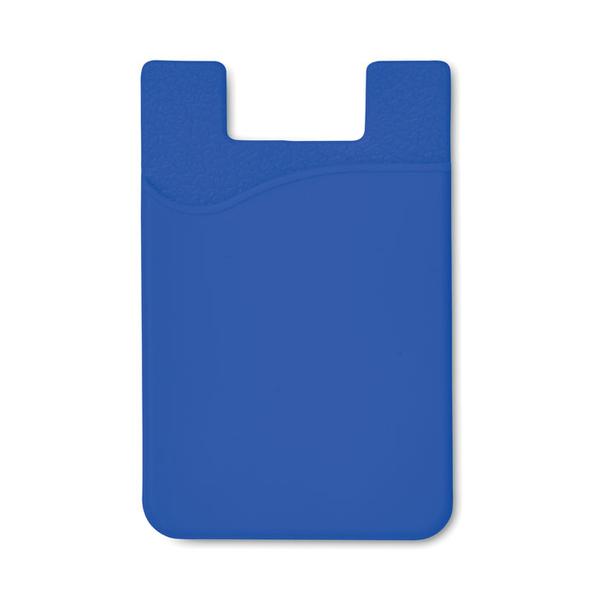 Чехол для пластиковых карт Silicard, синий - фото № 1