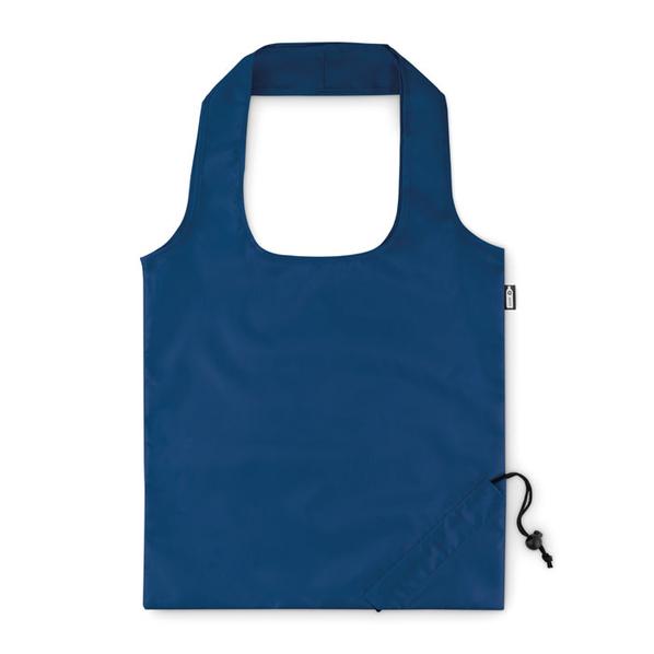 Складная сумка для покупок, голубая - фото № 1