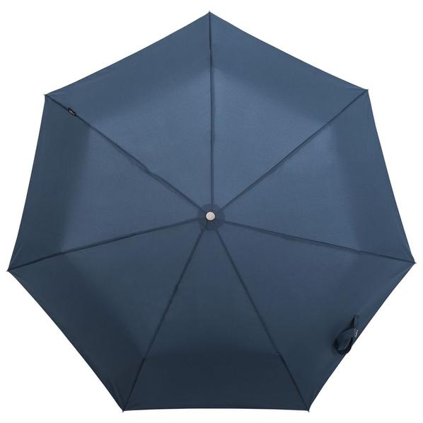 Зонт складной автомат Bugatti Take It Duo, синий - фото № 1