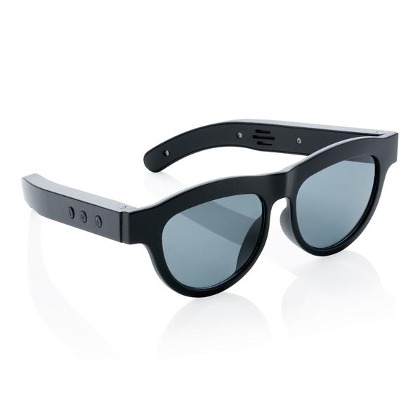 Солнцезащитные очки с функцией беспроводной колонки, черный - фото № 1