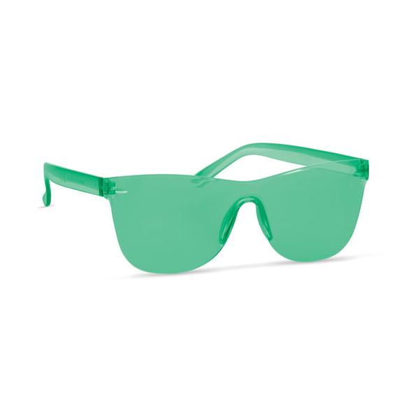 Солнцезащитные очки, зелёные - фото № 1