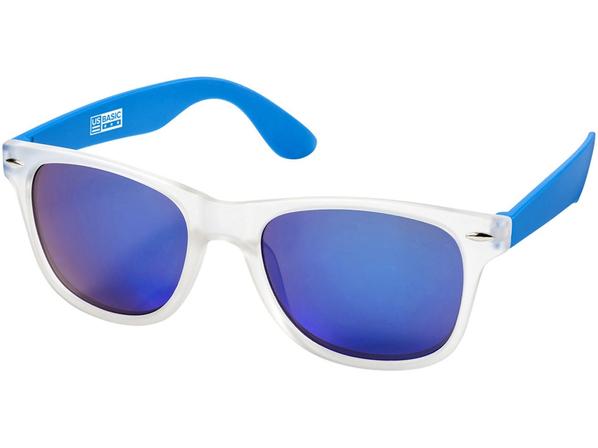 Очки солнцезащитные California, прозрачный, синий - фото № 1