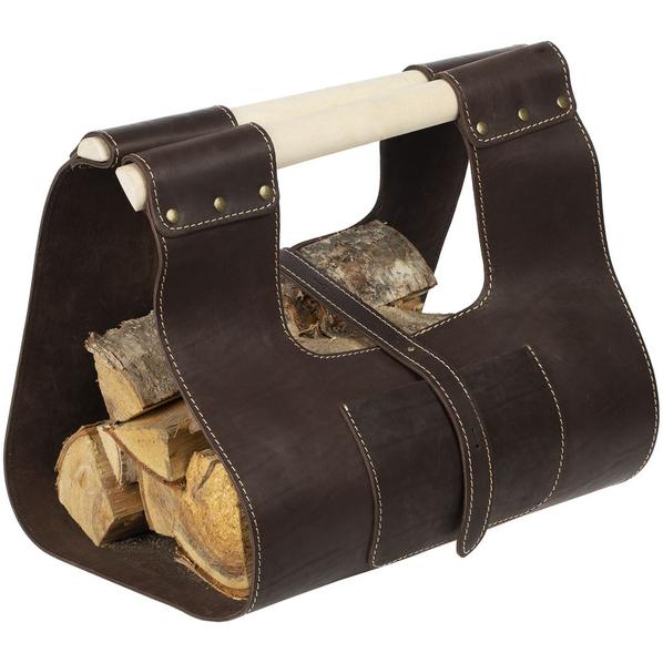 Сумка для дров Montero, коричневая - фото № 1