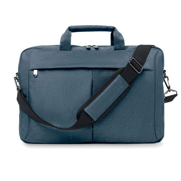 Сумка для ноутбука, ремень для крепления к чемодану, синий - фото № 1