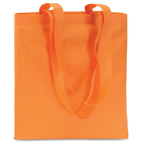 Сумка для покупок, 80 гр/м2, оранжевый - фото № 1