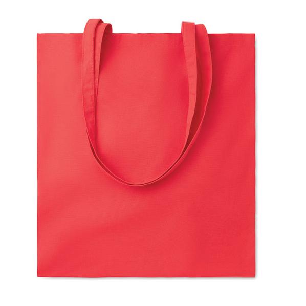 Сумка для покупок, 140 гр/м2, красный - фото № 1
