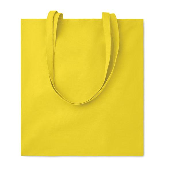 Сумка для покупок, 140 гр/м2, желтый - фото № 1