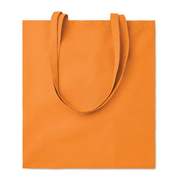 Сумка для покупок, 140 гр/м2, оранжевый - фото № 1