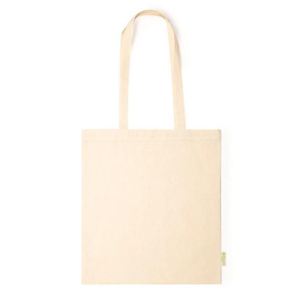 Сумка для покупок из органического хлопка Missam, бежевая - фото № 1