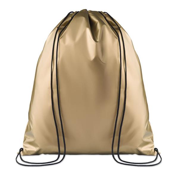 Сумка-мешок, золотой - фото № 1