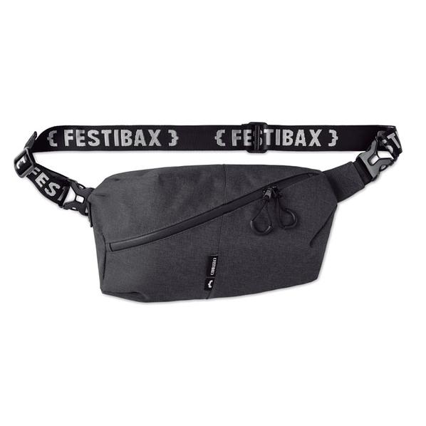 Сумка на пояс Festibax Basic, чёрная - фото № 1