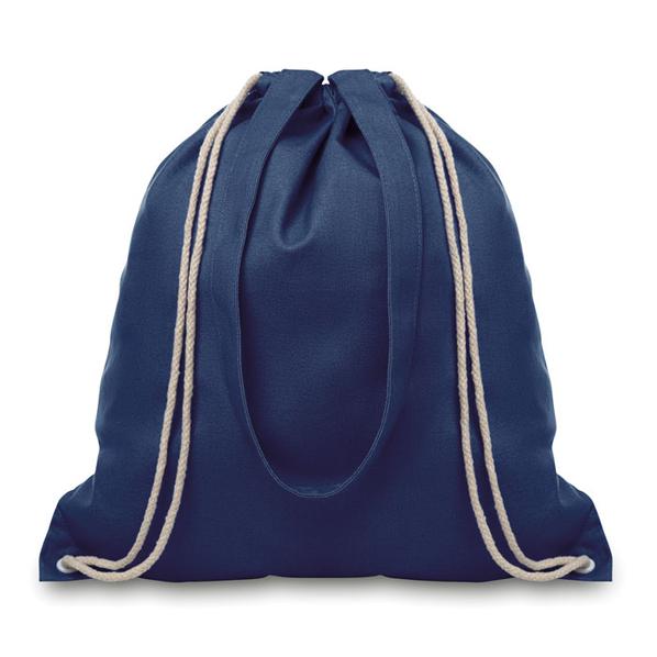 Сумка-рюкзак для покупок Moira, синяя - фото № 1