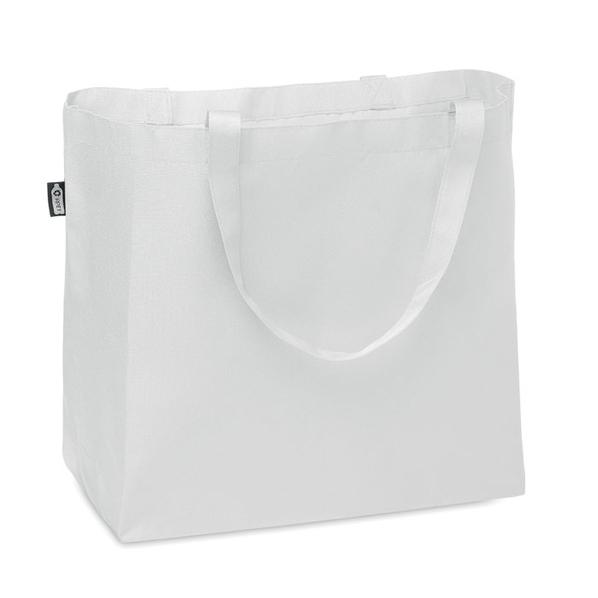Сумка шопер Fama, белая - фото № 1