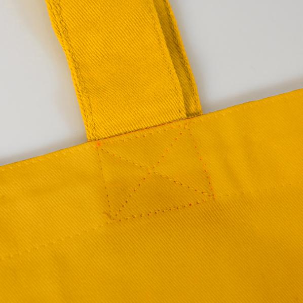 Сумка START, желтый, 100% х/б, 220 г/м2 - фото № 1