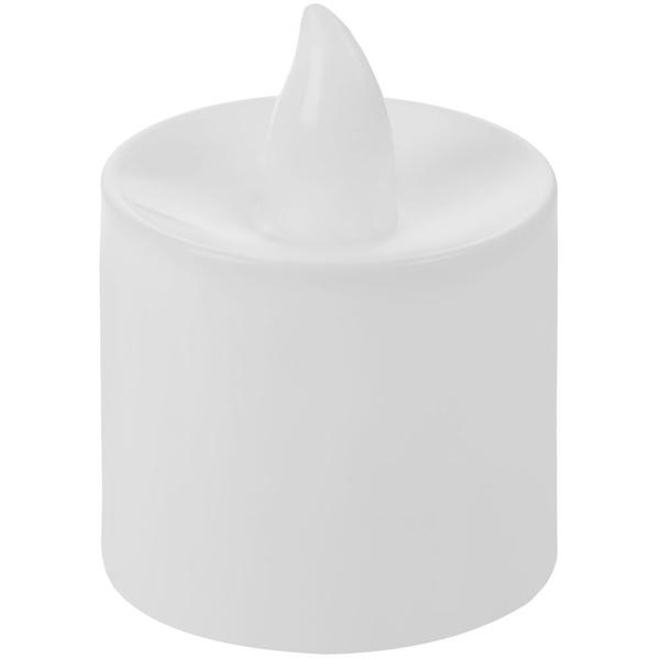 Светодиодная свеча Led, белая - фото № 1