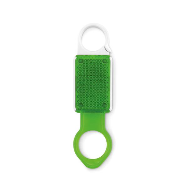 Светоотражающий держатель, зелёный - фото № 1