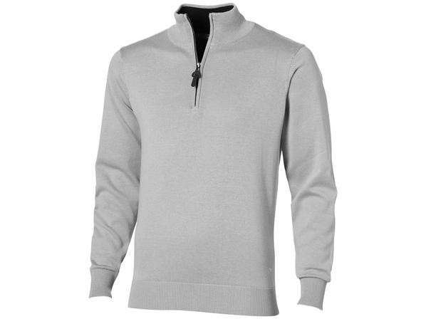 Пуловер на молнии мужской Slazenger Set, серый - фото № 1
