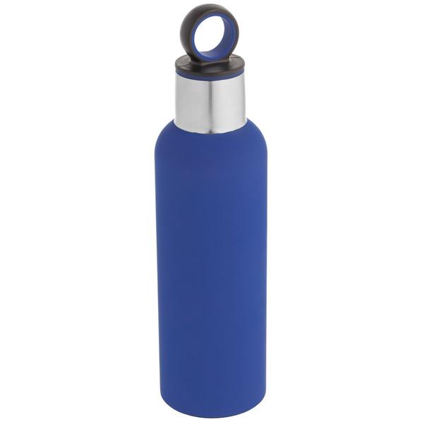 Термобутылка Sherp, синяя - фото № 1