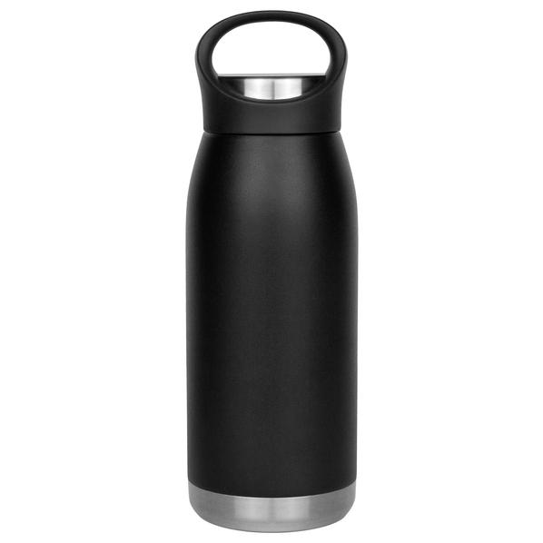 Термобутылка вакуумная герметичная Portobello Lago, 530 мл., черная - фото № 1
