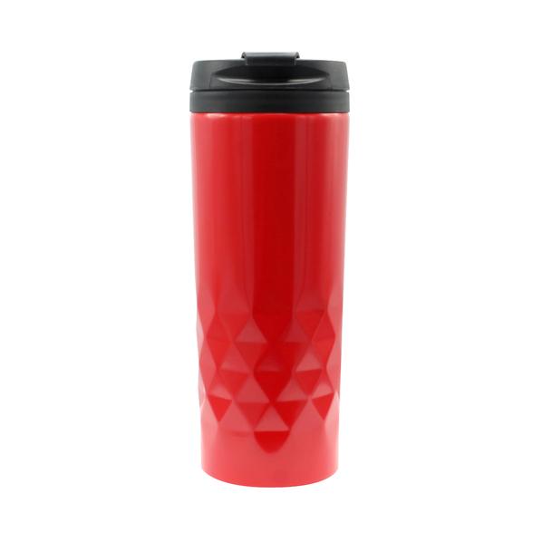 Термокружка Edge, 500 мл, красная / черная - фото № 1