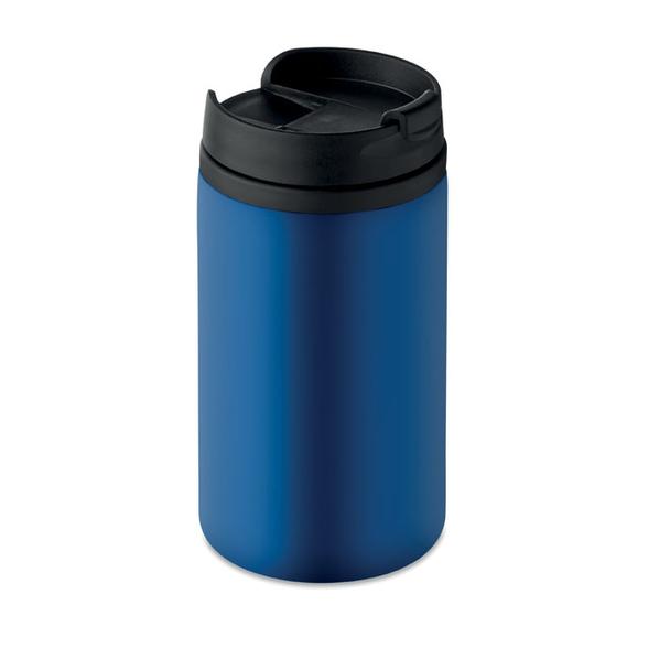 Термокружка, 250 мл., синий/черный - фото № 1