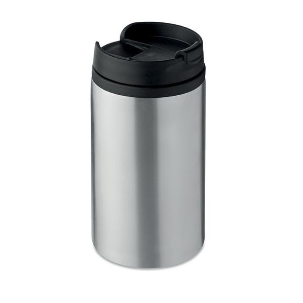 Термокружка, нержавеющая сталь/черный - фото № 1