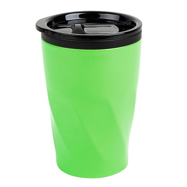 Термокружка Neon, 350 мл, металл/пластик, зеленая - фото № 1