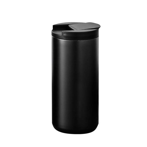 Термокружка с двойными стенками Koffline, черная - фото № 1