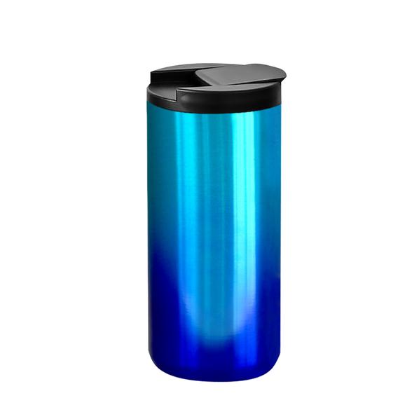 Термокружка с двойными стенками Koffline, голубая - фото № 1