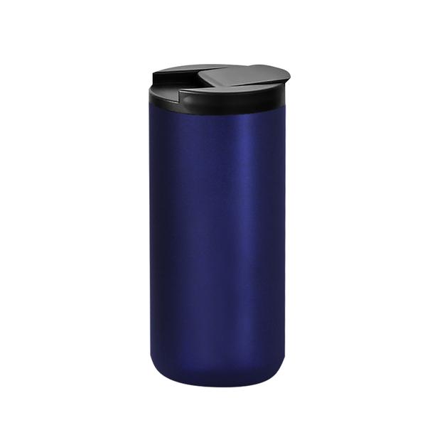 Термокружка с двойными стенками Koffline, синяя - фото № 1