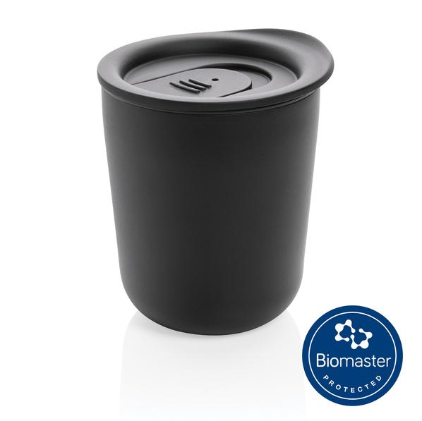 Термокружка с защитой от микробов XD Collection, 225 мл, черная - фото № 1