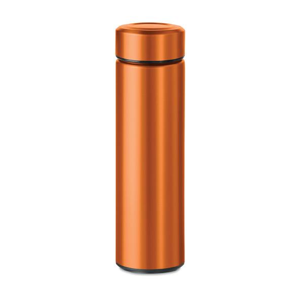 Термос двустенчатый, оранжевый, 470 мл - фото № 1
