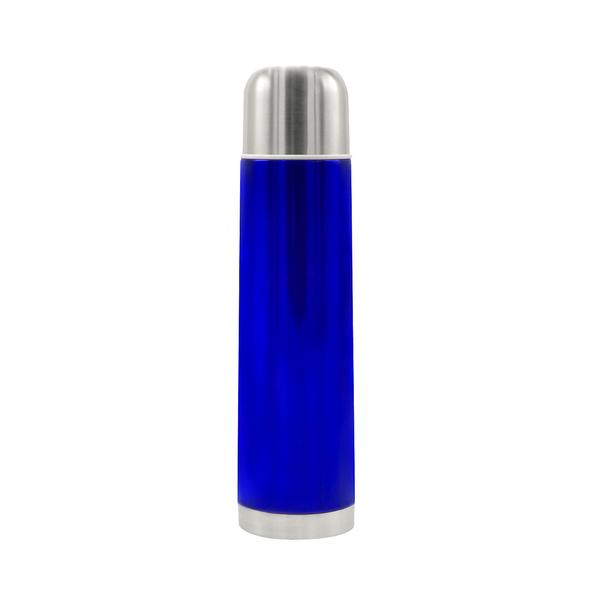Термос металлический Banquet, 1 л, синий - фото № 1