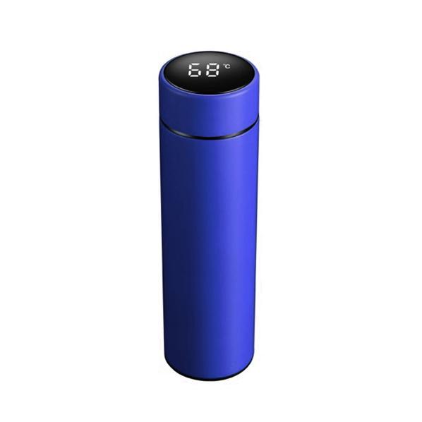 Термос с дисплеем Digiview, 500 мл, синий - фото № 1