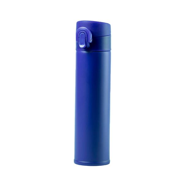 Термос вакуумный Poltax, 330 мл, синий - фото № 1
