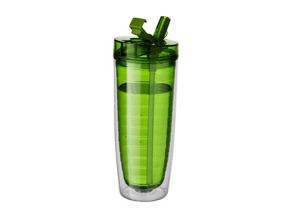 Термостакан пластиковый AvenueSippe, зеленый - фото № 1
