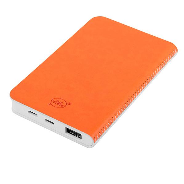 Зарядное устройство thINKme Franky, 4000 mAh, белое / оранжевое - фото № 1