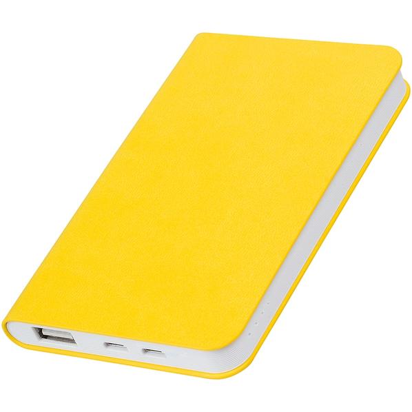 Зарядное устройство thINKme Softi, 4000 mAh, желтое - фото № 1