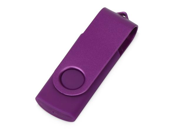 USB-флешка на 8 Гб Квебек Solid, фиолетовая