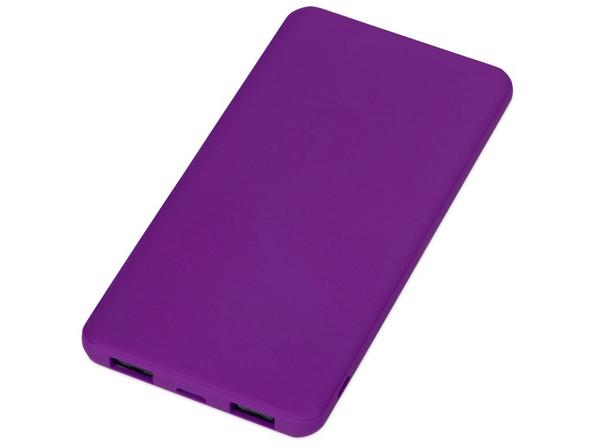 Внешний аккумулятор Evolt Reserve с USB Type-C, 5000 mAh, фиолетовый - фото № 1