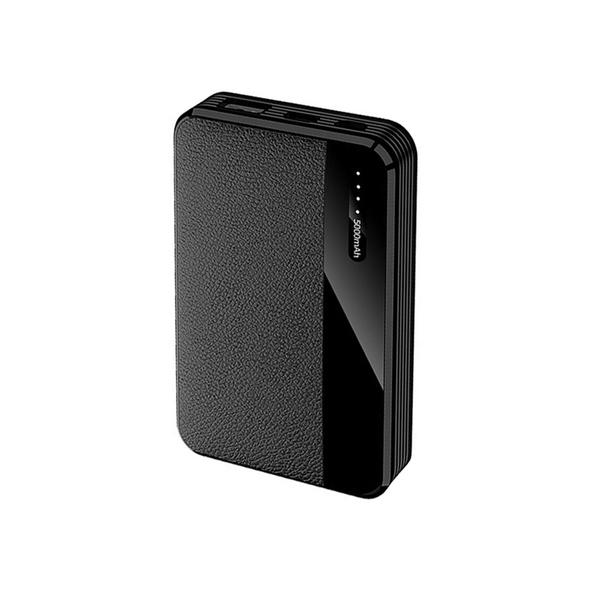 Внешний аккумулятор Pelle 5000 mAh, черный - фото № 1