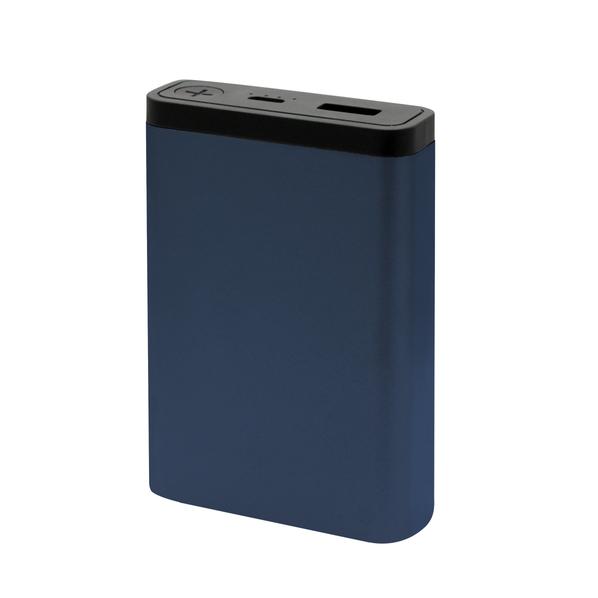 Внешний аккумулятор MeToo 10000 mAh, синий - фото № 1