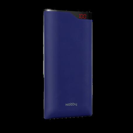 Внешний аккумулятор Nobby Comfort, 15000 мАч, синий - фото № 1