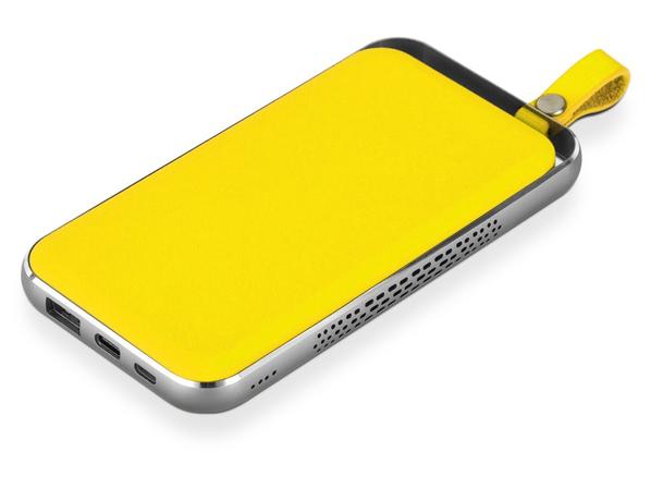 Внешний аккумулятор Rombica NEO Electron, жёлтый, 10000 mAh - фото № 1